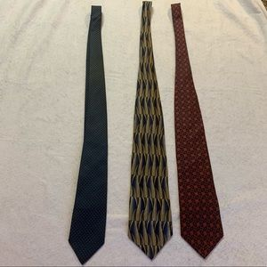Vintage Ties — Lot of 3 men's ties